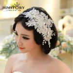 Handmade Lace <b>Wedding</b> Tiara Rhinestone Pearl Bridal Hair Accessories Crystal <b>Wedding</b> Headband Hair <b>Jewelry</b>