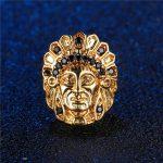 Beads <b>Jewelry</b> Making Supplies Gold/Silver <b>Native</b> <b>American</b> Head Charm Beads Accessories For Men Braided Beads <b>Jewelry</b> Handmade
