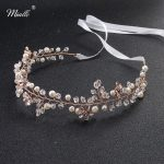 Miallo 2018 Newest Rose Gold Five Flowers Head Vine Fashion Headbands <b>Wedding</b> Hair Accessories Bridal Women <b>Jewelry</b> Headpieces