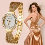 WA063 Gold <b>Silver</b> Women's Quartz Wristwatches Relogio Feminino Erkek Kol Saati Women Watches Top Brand Luxury Reloj Mujer Gift