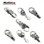 Genuine 925 Sterling Silver Charms Troll Tree castle Fish Flower Locks Lobster clasp Fit European Troll Bracelet <b>Jewelry</b>