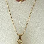 Natural Prett Lovely Women's Wedding fine 18KGP red gem CZ pendant ring #6,7,8,9 set silver-<b>jewelry</b> wedding