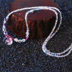 2018 New SWAN Jewelry Women Trendy Crystal Long Sweater Chain <b>Necklace</b> Cute Hello kitty cat Girls Birthday Christmas Xmas Gifts