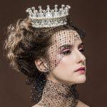 YueBanG Elegant Bridal Hair Accessories Pearl Crown For Women Crystal <b>Wedding</b> Crown Large Zircon Hair <b>Jewelry</b> Bride Hairbands.