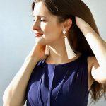 eManco Wholesale Tassel Hanging Crystal Earrings White Color Trendy Long Dangle Drop Earrings for Women <b>Fashion</b> <b>Jewelry</b>