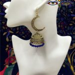 Original India Retro Golden Birdcage Earrings Half Moon Earring Indian Egyptian Gypsy Middle East <b>Jewelry</b> Limited <b>supply</b>