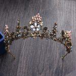 Jonnafe Vintage Baroque Tiara Bridal Hair Accessories Gold Flower <b>Wedding</b> Headwear Queen Crown Women Hair <b>Jewelry</b>