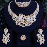 GODKI Famous Brand Luxury Shinning Flower Leaf Women Wedding Naija Bridal Cubic Zirconia <b>Necklace</b> Dubai Dress <b>Jewelry</b> Set