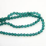 Hot Peacock Green 500-1000pcs 10mm Crystal Glass Bicone Loose Spacer Bead For <b>Jewelry</b> <b>Making</b> Bicone Wholesale Free Shipping