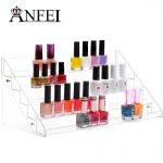 <b>fashion</b> 65 bottle nail polish rock box 5 layers Nail polish display shelf cosmetics High-grade PS material Ratio of the first
