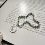 New 925 sterling <b>silver</b> bead figure <b>bracelets</b> <b>silver</b> round bead queen figure charm <b>bracelets</b> for women <b>silver</b> 925 jewelry 2018