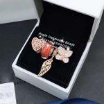 4pcs Rose Gold <b>Jewelry</b> Set Butterfly CZ Wings Dangle Charms Beads Fit DIY Bracelet Necklaces <b>Jewelry</b> <b>Making</b> Woman Gift