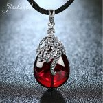 JIASHUNTAI Retro 925 <b>Silver</b> Sterling Royal Natural Semi-Precious Stones Pendant Necklace <b>Jewelry</b> For Women Vintage
