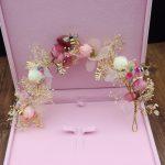 <b>Handmade</b> Flying Bee Vine Bridal Tiara Headbands Bride Crown Women Chaplet Hair Ornaments Wedding Hair <b>Jewelry</b> Accessories