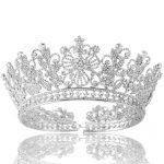 High Quality Bridal Tiaras and Crowns Full Crystal Rhinestone Silver Gold <b>Wedding</b> Hair Crown for Women Hair <b>Jewelry</b> Accessories