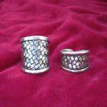 Guizhou folk style <b>jewelry</b> Hmong <b>handmade</b> Miao silver personality woven ring