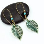 New arrival Verdigris Patina Boho Bohemian Earrings love heart leaf pendientes Hollow Earrings Indian <b>Native</b> <b>American</b> <b>Jewelry</b>