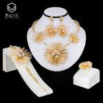 BAUS African <b>jewelry</b> sets Dubai Gold color big Nigerian <b>jewelry</b> sets Wholesale bridal bead wedding <b>Jewelry</b> set Women costume