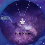 Anime Your Name <b>Necklace</b> Stars Shape Pedant Valentine's Day Gift
