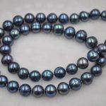 Genuine cultured Freshwater peacock pearl sets necklace & <b>bracelet</b> 20″ 20cm