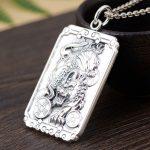 FNJ 925 <b>Silver</b> Pixiu Pendant Animal Coins Buddha Luck 100% Pure S990 Original Thai <b>Silver</b> Pendants for Women Men <b>Jewelry</b> Making