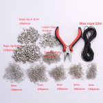 1 set <b>Jewelry</b> Tools Making Equipments Diy Kit Pliers For Necklace Bracelet <b>Handmade</b> Repair End Connect Materials Rings Rope Clip