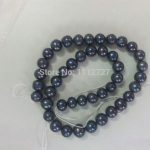 100% Real AAA 8-9mm Black Sea South Pearl Necklace Beads <b>Jewelry</b> Natural Stone Fashion <b>Jewelry</b> <b>Making</b> Design Wholesale Price