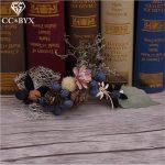 CC <b>Jewelry</b> Hairpins Wedding Decorations Bridal Hair Accessories Bride Tiara Flowers <b>Handmade</b> Hair Stick For Women Jewellry 1386