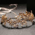 TUANMING New Hot <b>Handmade</b> Headband Crystal Pearl Hairband Wedding Headdress Bridal Hair Ornaments Wreath Ribbon Hairwear <b>Jewelry</b>
