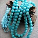 Tibetan <b>handmade</b> <b>jewelry</b> wholesale 8mm Tibet Buddhist 108 stone Prayer Beads Mala Necklace silver