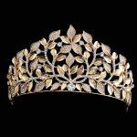 New 2018 Beautiful Baroque Golden Leaf Crown <b>Jewelry</b> Bridal Hair Accessories Luxury Crystal <b>Wedding</b> Bride Headband Crowns Tiaras