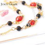 Africa Cute Ladybug Gold Chain <b>Handmade</b> Link Bracelet For Women Fashion <b>Jewelry</b> Bijoux Femme Support Dropshipping Christmas Gift