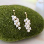 Lii Ji AAA 3-4mm Nearround Freshwater Pearl,Moonstone Stud <b>Earring</b> 925 Sterling <b>Silver</b> Gold Color <b>Earring</b> Fancy Jewelry