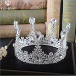 CC <b>Jewelry</b> crowns and tiaras hair crown party <b>handmade</b> wedding hair accessories for crown women queen hairwear bride diy HG454