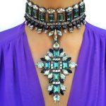 Dvacaman Brand 2017 Facebook Hot Crystal Pendant Necklace Choker Short Necklace Women Wedding Statement <b>Jewelry</b> <b>Accessory</b> G70