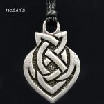 MCSAYS Norse Viking <b>Jewelry</b> Celtics Brothers Knot Pendant <b>Antique</b> Silver-Color Viking Necklace Fashion <b>Jewelry</b> Amulet Gifts 4SL