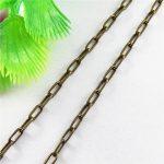 Slim Chain 1m Per Lot Italian Snake Fit <b>Jewelry</b> Making <b>Antique</b> Bronze Plated Metal Zinc Alloy Wholesale <b>Jewelry</b> Exhibition