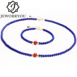 4.5-7mm Lapis Lazuli 925 Sterling <b>Silver</b> <b>Bracelet</b> Stone <b>Bracelet</b> For Necklace Charms <b>Bracelet</b> Women Rosary Gifts