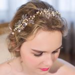 Top Quality bridal Wedding Party <b>jewelry</b> Gold sliver Leaves Pearl Headbands Flower Head Piece Bride Vintage Hair bands