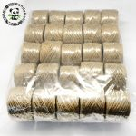 Hemp Cord Twine String, 1 Ply, for <b>Jewelry</b> <b>Making</b>, Peru, 1~2mm; 50m/roll; 25rolls/bag
