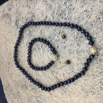 (Minimum Order1) AAA 7-8mm Black Akoya Cultured Pearl Necklace Bracelet Earrings Beads <b>Jewelry</b> Sets <b>Making</b> Natural Stone 18inch
