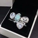 4pcs Fashion <b>Jewelry</b> Set S925 Silver Water Drop Heart CZ Dangle Charms Bead Fit DIY Bracelet Necklaces <b>Jewelry</b> <b>Making</b> Woman Gift