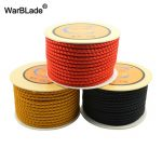18m 4mm Cotton Cord Nylon Thread Chinese Knot Macrame Cord Plastic String Beaded Rope For DIY Bracelet Necklace <b>Jewelry</b> <b>Making</b>