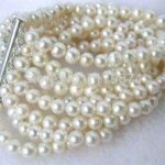 Hot New Wholesale <b>jewelry</b> Charming! 8 rows 6-7mm white fresh water pearl shell Bracelet Fashion <b>Jewelry</b> <b>Making</b> 7.5 inch