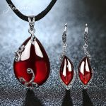 JIASHUNTAI Retro 100% 925 <b>Sterling</b> <b>Silver</b> <b>Jewelry</b> Sets Vintage Pendant Necklac Drop Earrings For Women Natural Stone