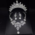 Fashion Luxurious Rhinestone Wedding Bridal <b>Jewelry</b> Sets Wedding <b>Jewelry</b> <b>Accessories</b> Bridal Tiara Bride Crowns Earring Necklace