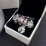 4pcs Fashion S925 Silver Clover CZ Dangle Murano Charms Beads <b>Jewelry</b> Set Fit DIY Bracelet Necklaces <b>Jewelry</b> <b>Making</b> Woman Gift