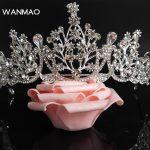 High-grade environmentally friendly alloy rhinestone fashion dinner bride tiara <b>wedding</b> <b>jewelry</b> female HD440