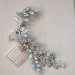 Jonnafe Crystal Hair Comb Bridesmaid Headpiece <b>Fashion</b> Wedding Hair Vie Accessories Bridal Hair <b>Jewelry</b> Piece