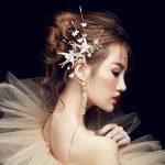 Long Tassel Hairpin Earrings <b>Jewelry</b> Crystal Swallow Flower <b>Handmade</b> Bridal Wedding Accessories Earrings Women Patry <b>Jewelry</b>